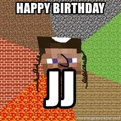 Minecraft Jew - HAPPY BIRTHDAY  JJ