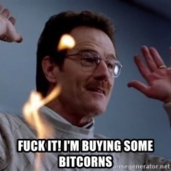 breaking_ -  fuck it! I'm buying some bitcorns
