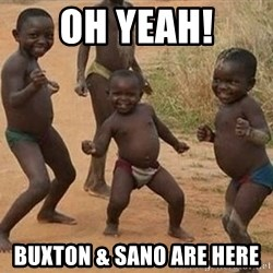 Dancing african boy - OH YEAH! BUXTON & SANO ARE HERE