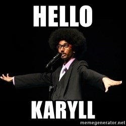 AFRO Knows - hello karyll