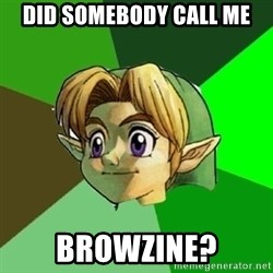 Link - did somebody call me browzine?