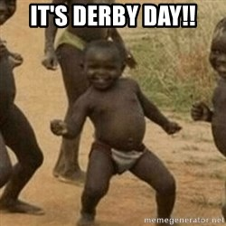 Little Black Kid - It's Derby Day!!