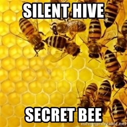 Honeybees - silent hive secret bee