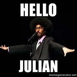 AFRO Knows - hello julian