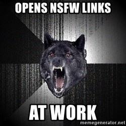 flniuydl - OPENS NSFW LINKS AT WORK