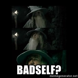 Confused Gandalf -  badself?