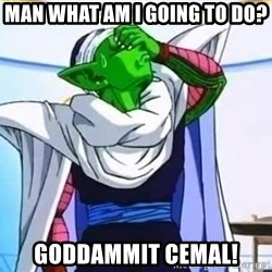 Facepalm Goku - Man what am I going to do? Goddammit Cemal!