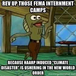 "Rev Up Those Fryers - REV UP THOSE FEMA INTERNMENT CAMPS BECAUSE HAARP INDUCED ""CLIMATE DISASTER"" IS USHERING IN THE NEW WORLD ORDER"