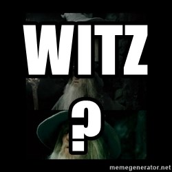 Confused Gandalf -  witz?