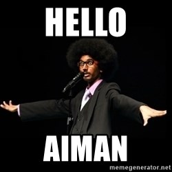 AFRO Knows - hello Aiman