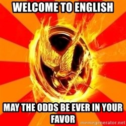 Typical fan of the hunger games - Welcome to English May the odds be ever in your favor