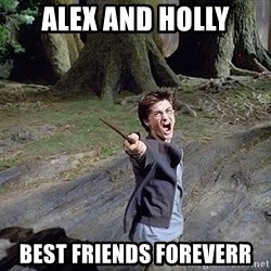 Pissed off Harry - ALEX AND HOLLY BEST FRIENDS FOREVERR