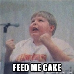 The Fotographing Fat Kid  -  Feed Me Cake