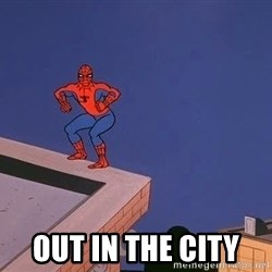 Spiderman12345 -  out in the city