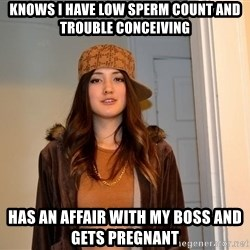 scumbag stacy - Knows i have low sperm count and trouble conceiving has an affair with my boss and gets pregnant