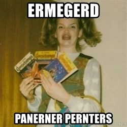 Goosebumps Girl Sings - ermegerd panerner pernters