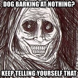 Shadowlurker - DOG BARKING AT NOTHING? KEEP TELLING YOURSELF THAT