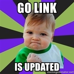 Victory baby meme - GO LINK IS UPDATED
