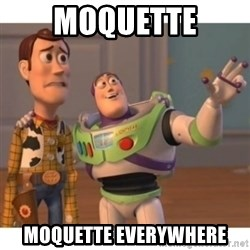 Toy story - moquette moquette everywhere