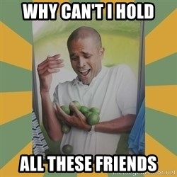Why can't I hold all these limes - Why Can't I Hold All These Friends