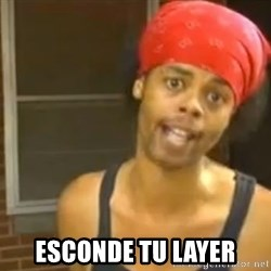 Bed Intruder -  esconde tu layer