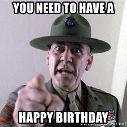 Military logic - YOU NEED TO HAVE A HAPPY BIRTHDAY