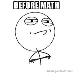 Challenge Accepted HD 1 - Before math