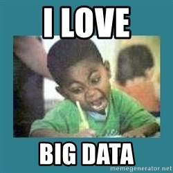 I love coloring kid - I love Big Data