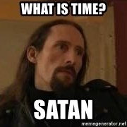 gorgoroth gaahl - What is Time? Satan