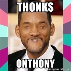 woll smoth - THONKS ONTHONY