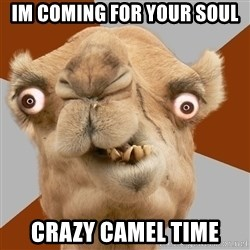 Crazy Camel lol - Im coming for your soul crazy camel time