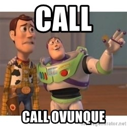 Toy story - call call ovunque