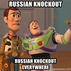 Anonymous, Anonymous Everywhere - RUSSIAN KNOCKOUT RUSSIAN KNOCKOUT EVERYWHERE