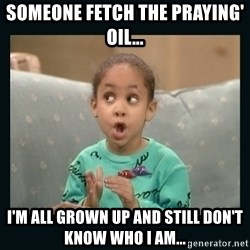 Raven Symone - someone fetch the praying' oil... i'm all grown up and still don't know who i am...