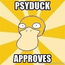 Conspiracy Psyduck - psyduck approves