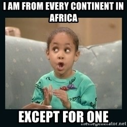 Raven Symone - I Am From Every Continent In Africa Except For One