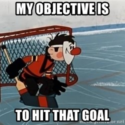 goaliepro - My objective is  to hit that goal