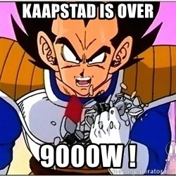 Over 9000 - Kaapstad is over 9000w !