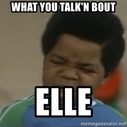 Gary Coleman II - What you talk'n bout Elle