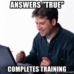 """Net Noob - Answers """"True"""" Completes training"""