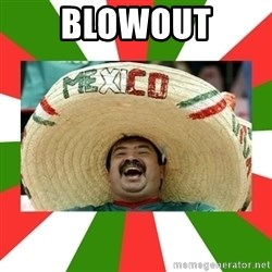 Sombrero Mexican - blowout