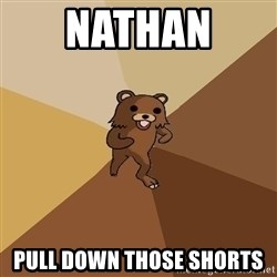 Pedo Bear From Beyond - nathan  pull down those shorts
