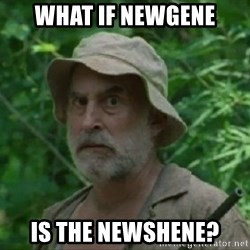 The Dale Face - What if NewGene is the NewShene?