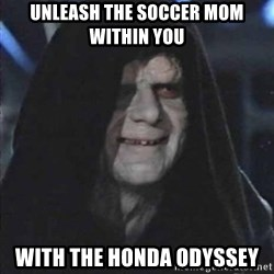 emperorrr - Unleash the Soccer mom within you  with the Honda Odyssey