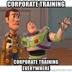 Toy story - corporate training corporate training everywhere