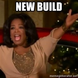 The Giving Oprah - New build
