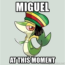 Smugleaf - Miguel at this moment