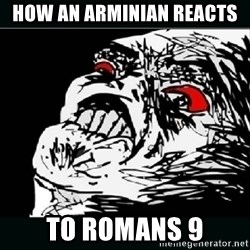 oh crap - how an arminian reacts  to romans 9