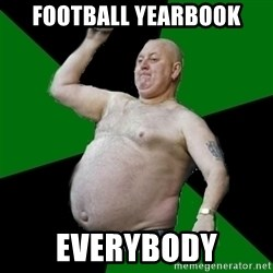 The Football Fan - football Yearbook EVERYBODY