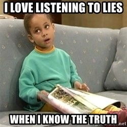 Olivia Cosby Show - I love listening to lies When i know the truth